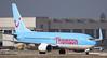 Thomson Airways 737-800 G-TAWB. By Jim Calow.