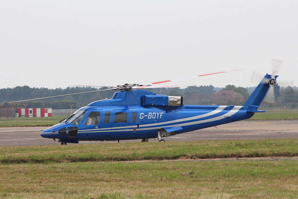 Sikorsky S-76B, G-BOYF<br /> By Clive Featherstone.