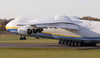 Antonov Airlines, An-225, UR-82060 By Jim Calow.