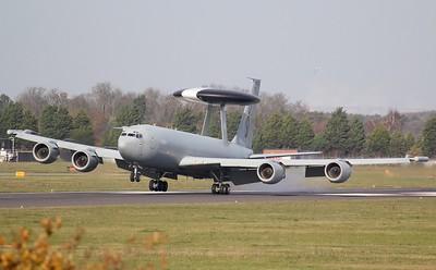 RAF, E-3D Sentry, ZH106 By Jim Calow.