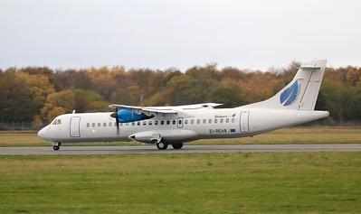 Stobart Air (Aer Lingus) ATR-72 EI-REH. By Jim Calow.