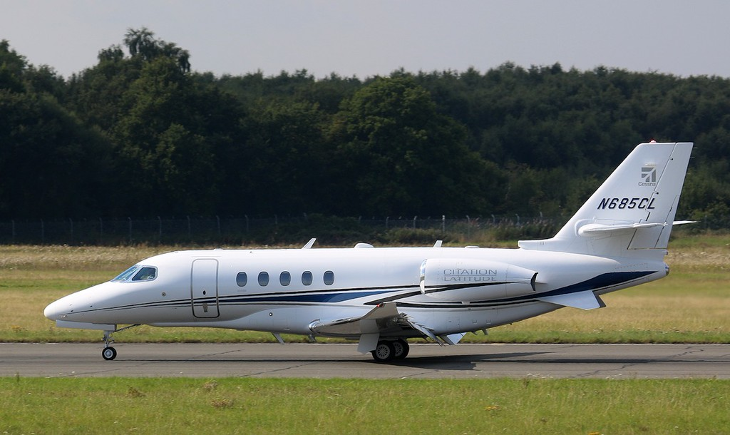 Cessna 680A Citation Latitude, N685CL  (5th of model built; July 2015)<br /> By Correne Calow.