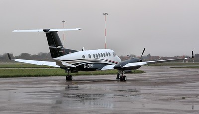 Flairjet Beech King Air 350i, G-ERSE. By Correne Calow.