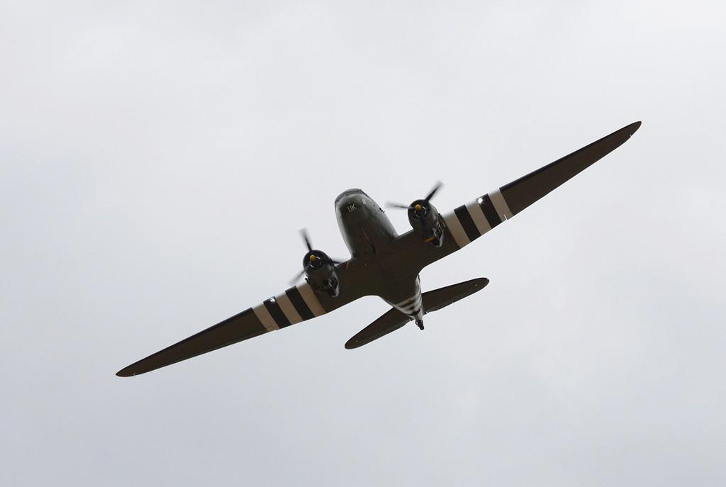 BBMF C-47 Dakota, ZA947<br /> By Clive Featherstone.