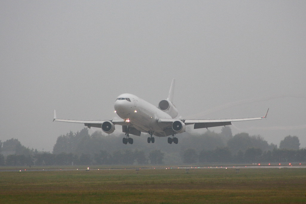 Global Africa Aviation, MD-11F, Z-GAC (ex N279WA)<br /> By Clive Featherstone.