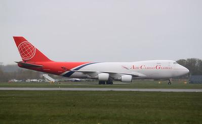 Air Cargo Global, 747-400F, OM-ACA By Graham Miller.