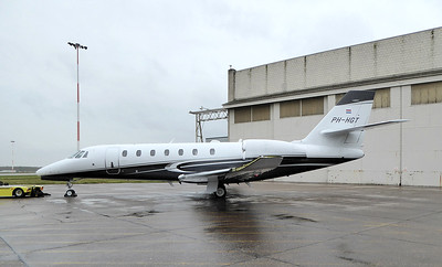 Air Service Leige, Citation 680 Sovereign PH-HGT By Correne Calow.