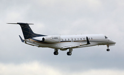 Air Charter Scotland,  EMB-135BJ  Legacy 650, G-WIRG By Correne Calow.