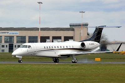 Air Charter Scotland,  EMB-135BJ  Legacy 650, G-WIRG By Clive Featherstone.