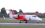 Flight Ambulance International Learjet 55, D-CAAE By Correne Calow.