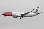Norwegian Air International, 737-800,  EI-FVN By Graham Miller.