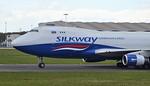Silkway West Airlines, 747-400F, VP-BCH By Jack Barratt.