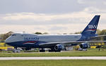 Silkway West Airlines, 747-400F, VP-BCH By Steve Roper.