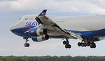 Silkway West Airlines, 747-400F, VP-BCH By Jim Calow.