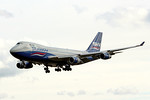 Silkway West Airlines, 747-400F, VP-BCH By Graham Miller.