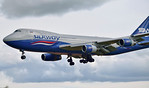 Silkway West Airlines, 747-400F, VP-BCH By Ray Spencer.