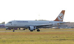 Freebird Airlines, A320, TC-FHC By Jim Calow.