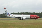 Norwegian Air International, 737-800, EI-FVR By Clive Featherstone.