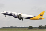 Monarch Airlines, A321, G-ZBAI By Graham Miller.