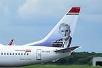 Norwegian Air International, 737-800, EI-GBF By Ray Spencer.