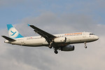 Freebird Airlines, A320, TC-FHE By Graham Miller.